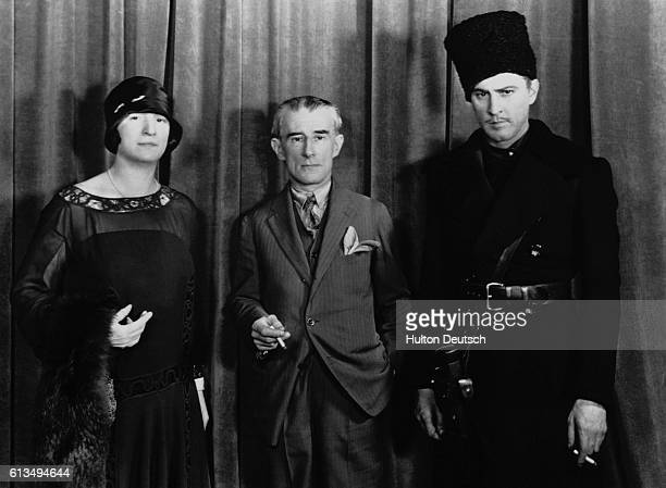 French composer Maurice Ravel and soprano Lisa Roma tour the United States They gave concerts of Ravel's own compositions and were guests of John...