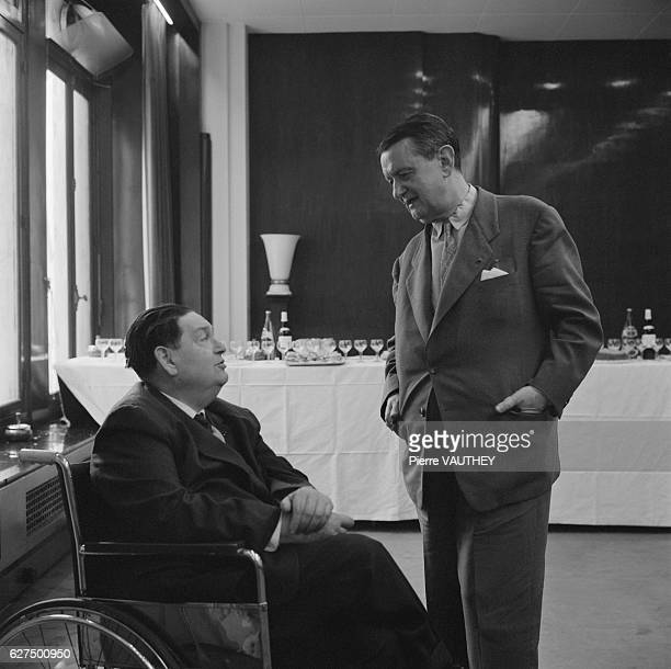 French Composers Darius Milhaud and Georges Auric