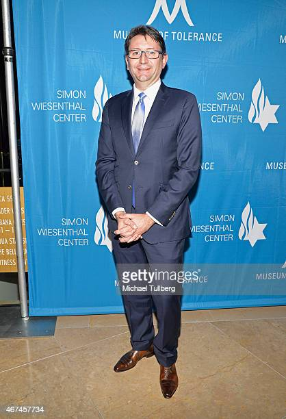 French Consul General Axel Cruau attends the Simon Wiesenthal Center's 2015 National Tribute Dinner honoring Harvey Weinstein at The Beverly Hilton...