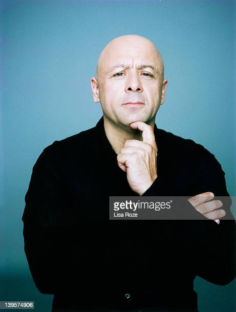 French cook chief Thierry Marx is photographed for Sport style on October 20 2011 in Paris France