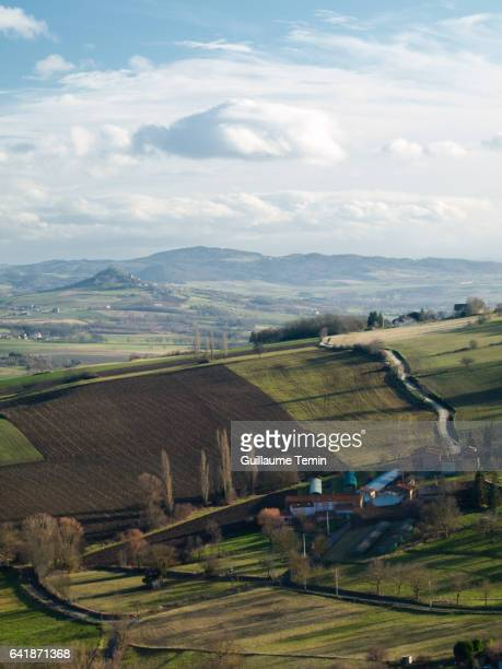 french country - auvergne rhône alpes stock photos and pictures