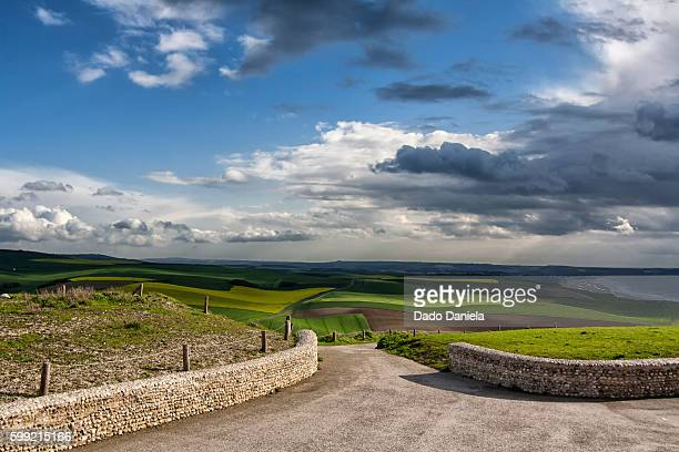 french countryside - hauts de france stock photos and pictures