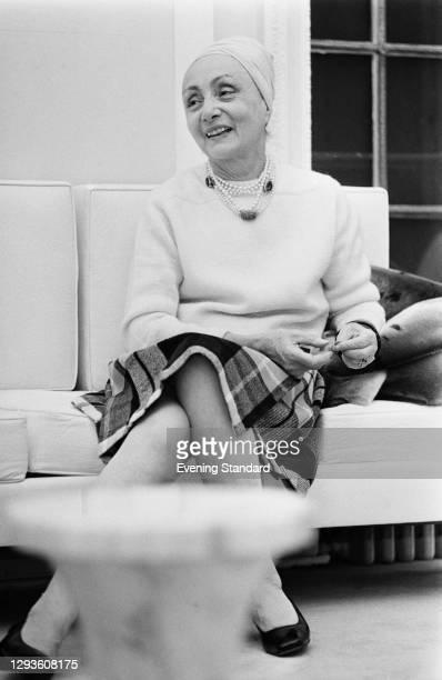 French couturier Madame Grès , born Germaine Émilie Krebs, UK, March 1968.