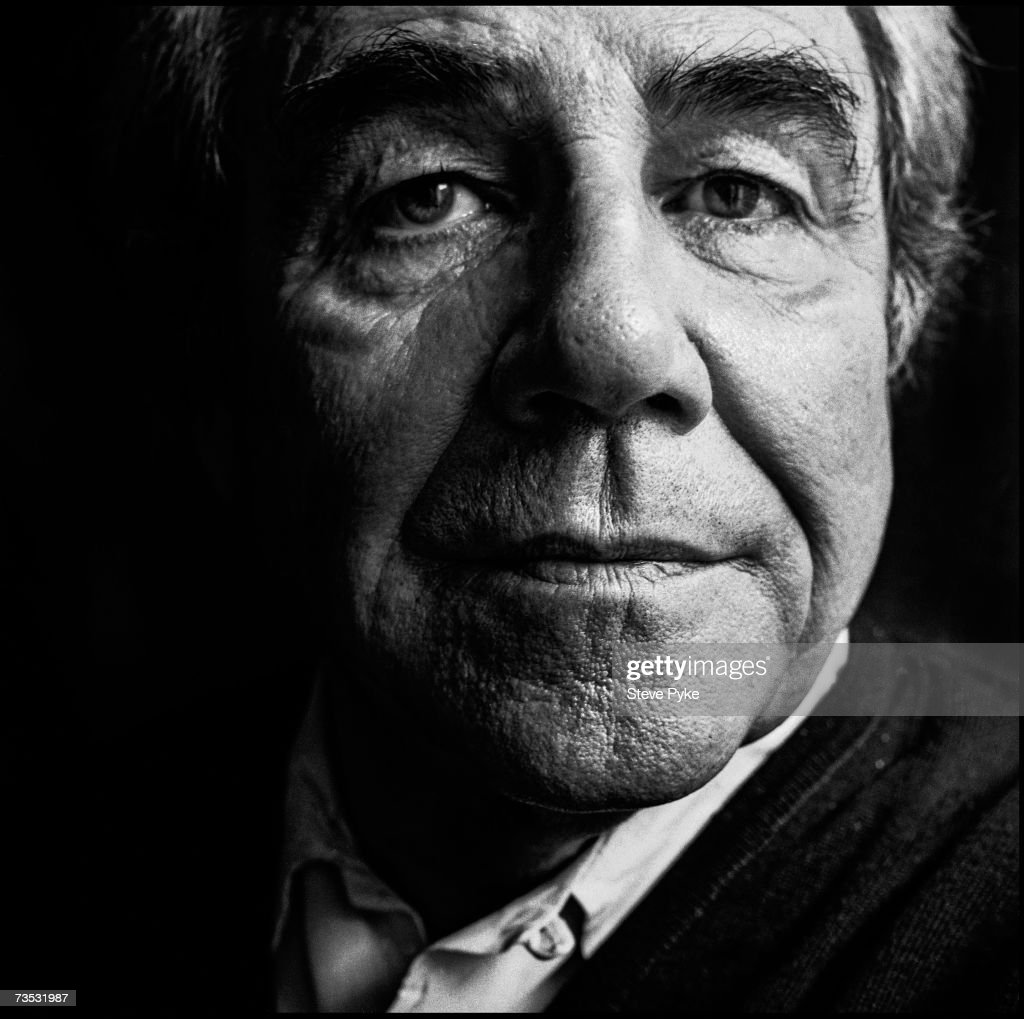 French cultural theorist and postmodernist philosopher Jean Baudrillard (1929 - 2007), Paris, 6th December 1991.