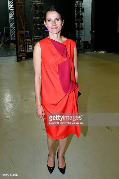 French Culture Minister Aurelie Filippetti attends the AROP Charity Gala Held at Opera Bastille on May 21 2014 in Paris France