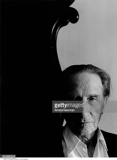 French Dada artist Marcel Duchamp poses for portrait January 28, 1966 in New York City. Duchamp is best known for his controversial painting 'Nude...