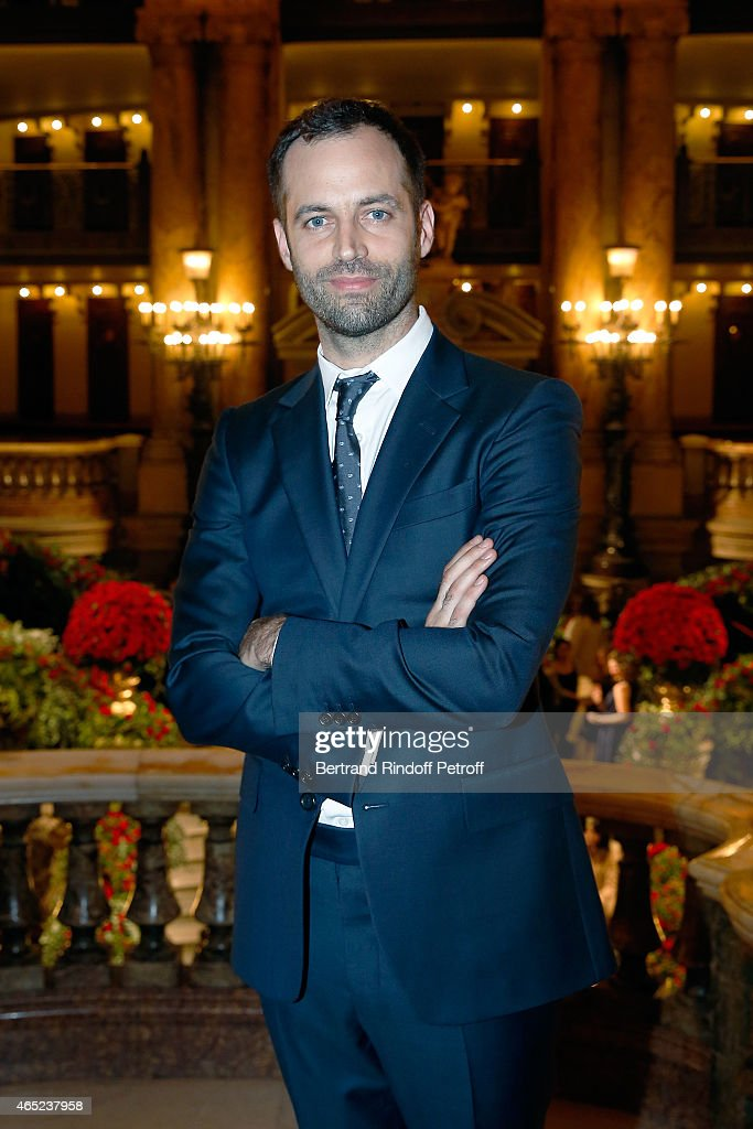 French dancer and choregrapher Benjamin Millepied attends Le Chant De La Terre AROP Charity Gala at Opera Garnier on March 4, 2015 in Paris, France.