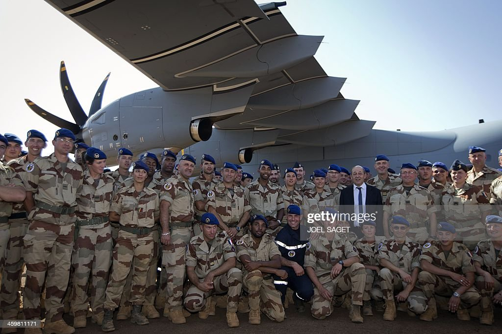 MALI-FRANCE-CONFLICT-SAHEL : News Photo