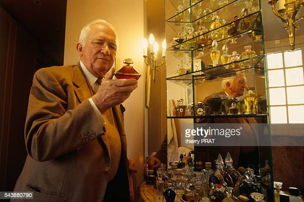 French designer and perfumer Jean-Paul Guerlain at home on Porquerolles island.