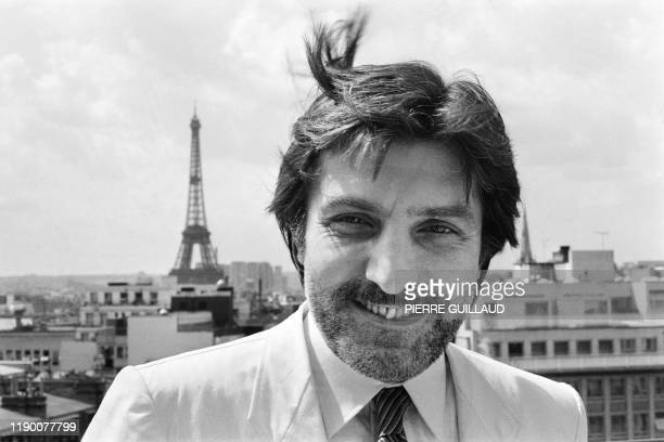 French designer Emanuel Ungaro poses on July 31 1980 in Paris French fashion designer Emanuel Ungaro who described himself as a sensual obsessive has...