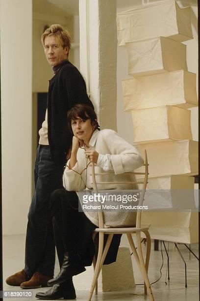 French designers Élisabeth Garouste and Mattia Bonetti