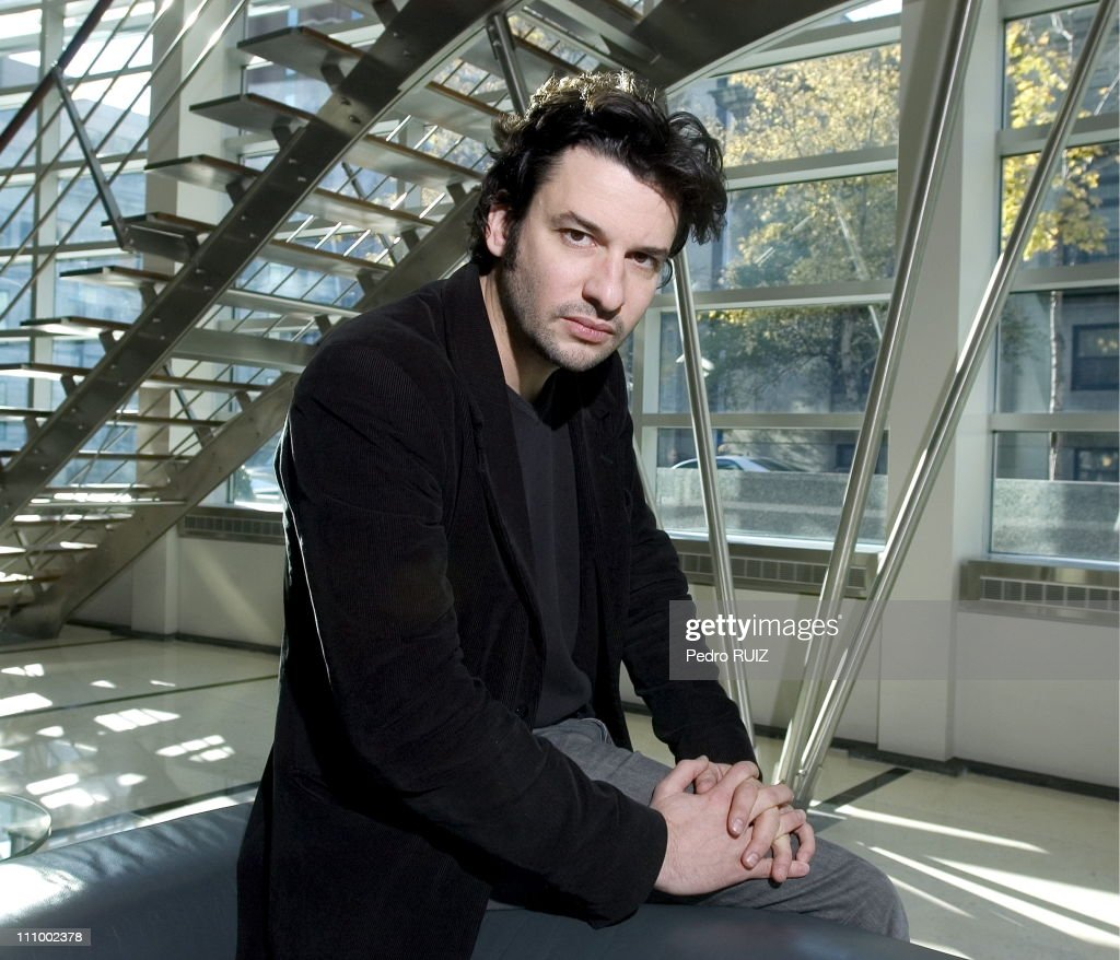 French director and actor Eric Caravaca in Montreal, Canada on November 02nd, 2006. : News Photo
