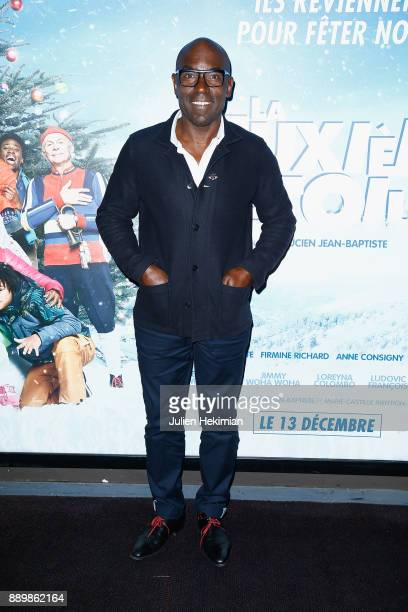 French director and actor Lucien Jean Baptiste attends 'La Deuxieme Etoile' Paris Premiere at UGC Cine Cite Bercy on December 10 2017 in Paris France