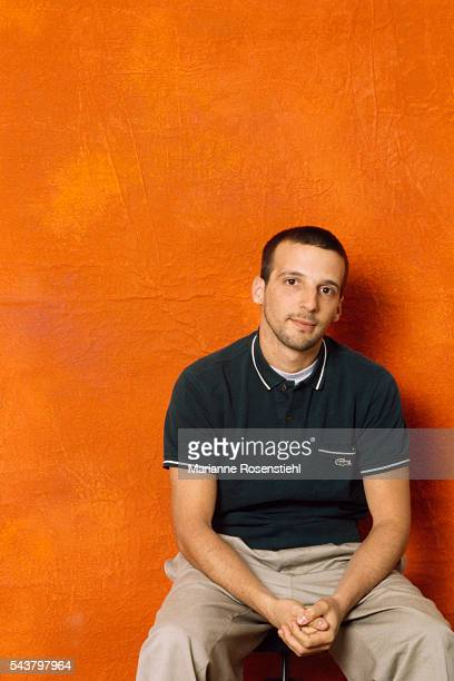 French director and actor Mathieu Kassovitz.