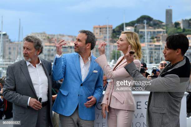 French director and member of the Feature Film Jury Robert Guediguian Canadian director and member of the Feature Film Jury Denis Villeneuve...