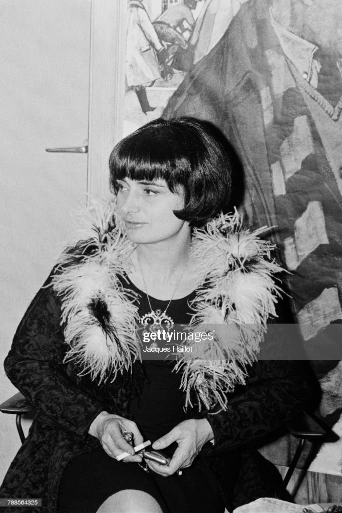 French director and screenwriter Agnes Varda.