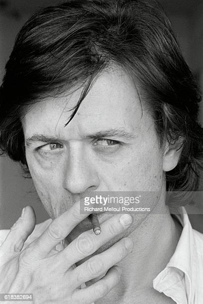 French director and screenwriter Patrice Chéreau attends the 36th Cannes Film Festival to present his movie L'Homme blessé