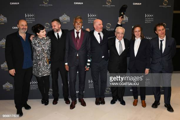 French director cedric Klapish French direcor Rebecca ZlotowskiFrench director Yann Gonzalez Producer of the Globes de Cristal awards in Arts and...