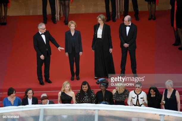 French director Celine Sciamma French director Agnes Varda Australian actress and President of the Jury Cate Blanchett US director and screenwriter...