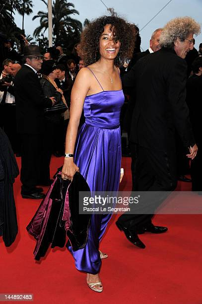 """French director Elie Chouraqui arrives with his wife Isabel Chouraqui attend the """"Amour"""" premiere during the 65th Annual Cannes Film Festival at..."""