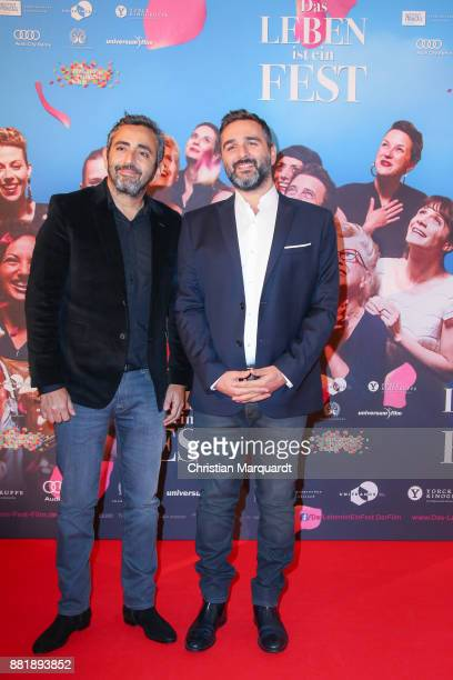 French director Eric Toledano and French director Olivier Nakache together on the red carpet on arrival for the opening film of the 17th French Film...