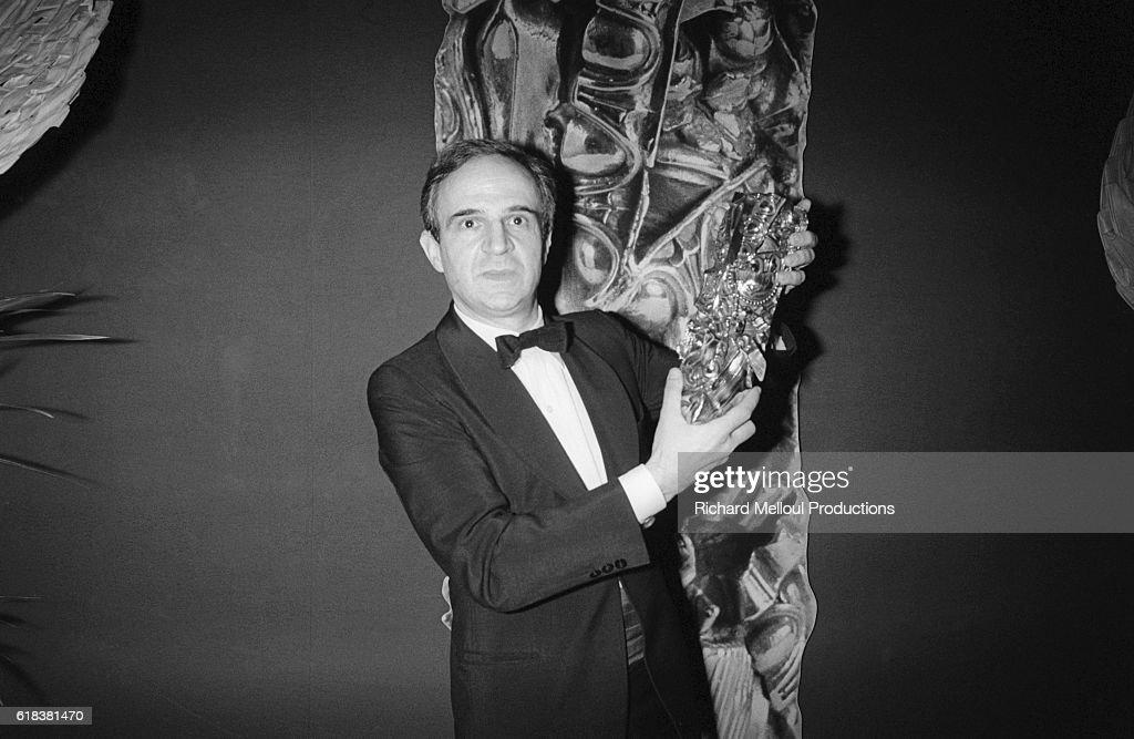 Director Francois Truffaut Wins a Cesar : Photo d'actualité