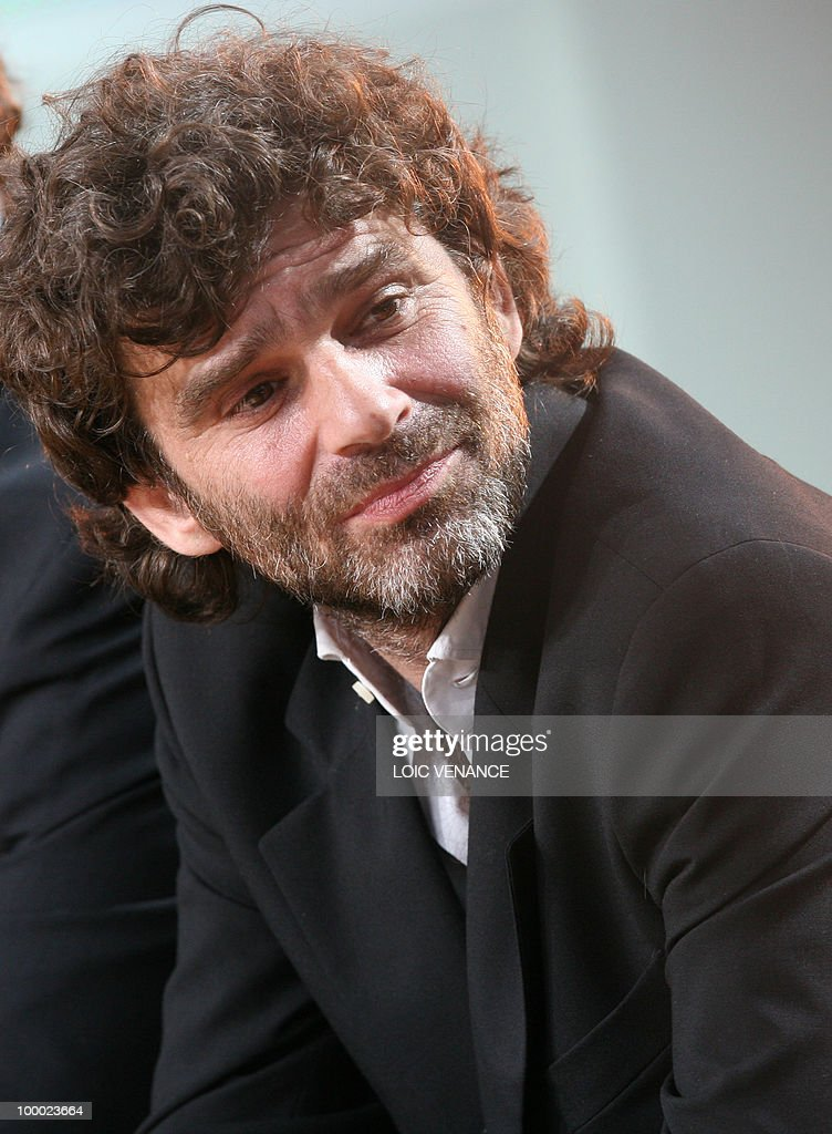 French director Fred Poulet attends the Canal+ TV show 'Le Grand Journal' during the 63rd Cannes Film Festival on May 20, 2010 in Cannes.