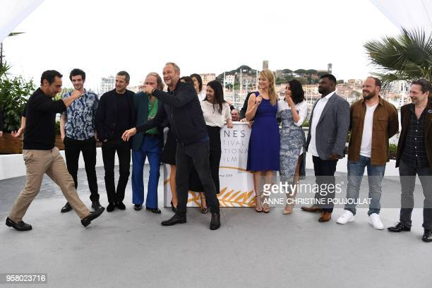 French director Gilles Lellouche French actor Felix Moati French actor Guillaume Canet French actor Philippe Katerine Belgian actor Benoit Poelvoorde...