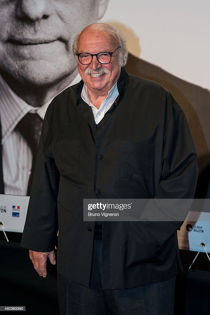 French Director Jean Becker attends the Opening Ceremony of the 7th Film Festival Lumiere on October 12, 2015 in Lyon, France.