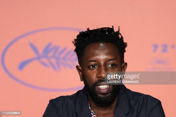 French director Ladj Ly speaks during a press conference for the film Les Miserables at the 72nd edition of the Cannes Film Festival in Cannes...