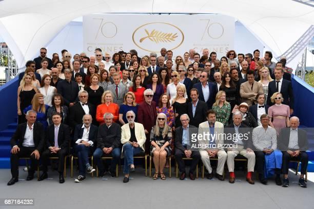 French director Laurent Cantet, Romanian director Cristian Mungiu, US director Jerry Schatzberg, French director Claude Lelouch, Austrian director...