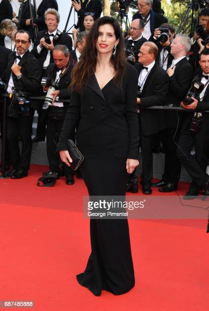 French director Maiwenn attends the 70th Anniversary screening during the 70th annual Cannes Film Festival at Palais des Festivals on May 23 2017 in...