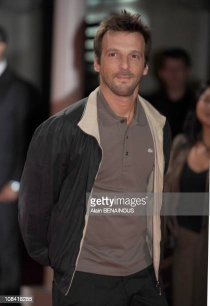 French director Mathieu Kassovitz attends the : 'Hell Boy II: The Golden Army' premiere at the 34th Deauville Film Festival in Deauville, France on...
