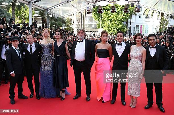 French director Olivier Dahan British actor Tim Roth Australian actress Nicole Kidman French actress Jeanne Balibar French producer Pierre Ange Le...