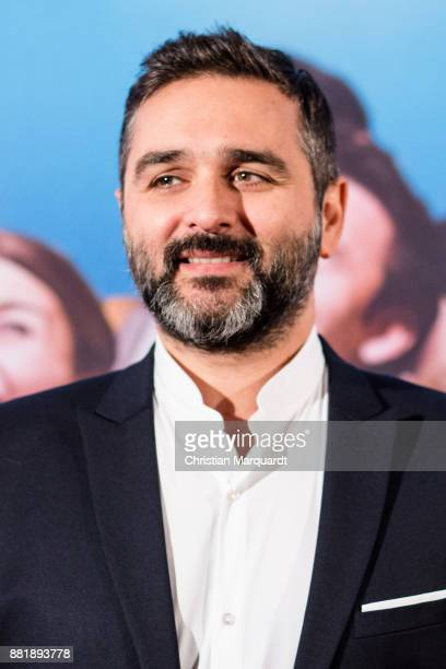 French director Olivier Nakache on the red carpet on arrival for the opening film of the 17th French Film Week Berlin 'Le Sens de la fete' at Kino...