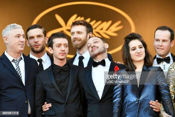 French director Robin Campillo French actor Arnaud Valois Argentinian actor Nahuel Perez Biscayart French actor Antoine Reinartz French actor Julien...