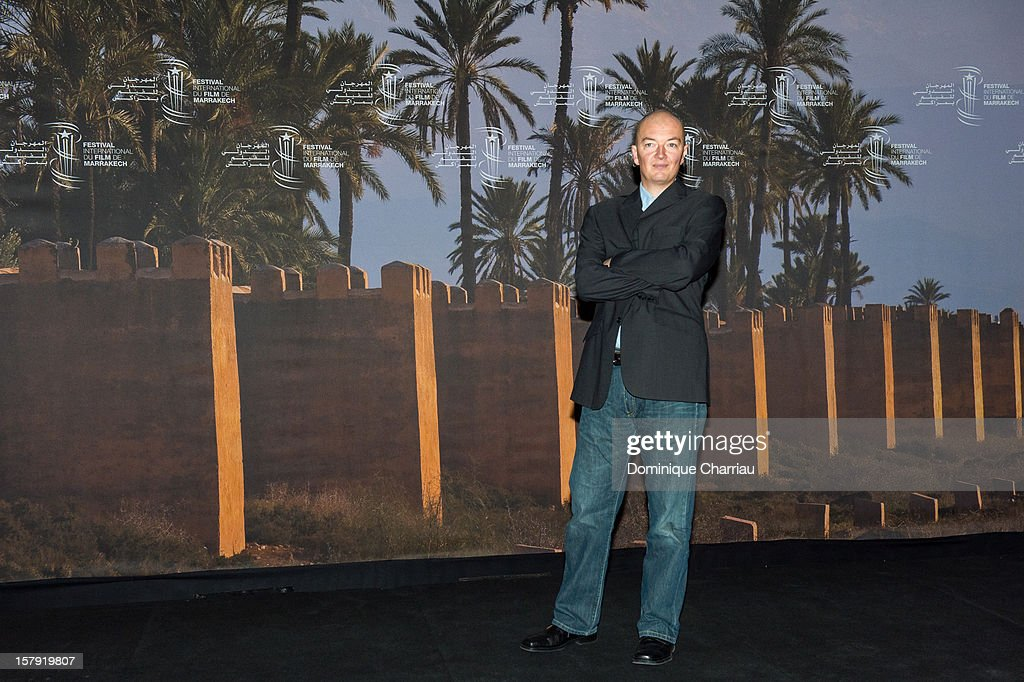 French Director Samuel Collardey attends the 'Little Lion' Photocall during the12th International Marrakech Film Festival on December 7, 2012 in Marrakech, Morocco.