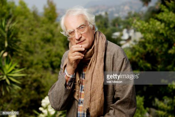 French director screenwriter actor and producer Bertrand Tavernier is photographed for Los Angeles Times on August 25 2016 in Los Angeles California...