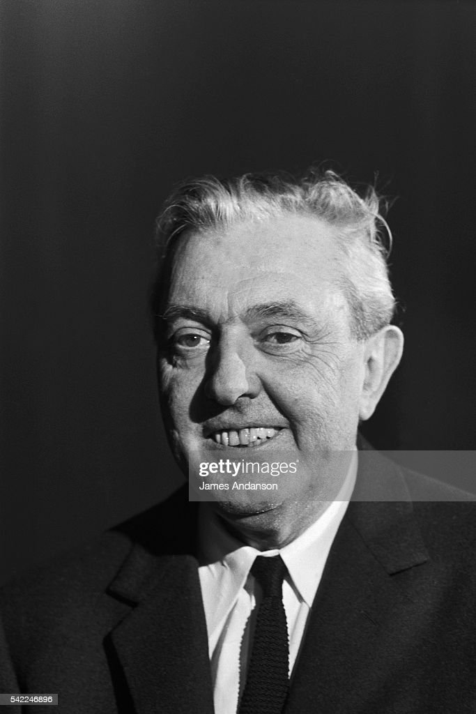 French director, screenwriter and actor Jacques Tati.