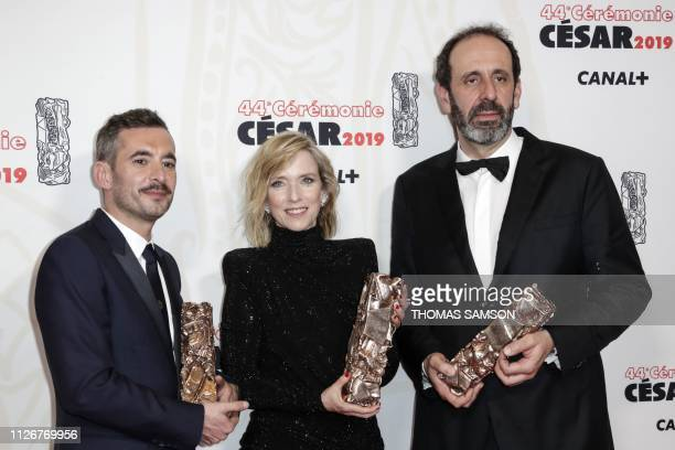 French director Xavier Legrand winner of the Best film award and Best Original Screenplay award and French actress Lea Drucker winner of Best actress...