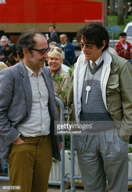 French directors JeanLuc Godard and JeanPierre Mocky