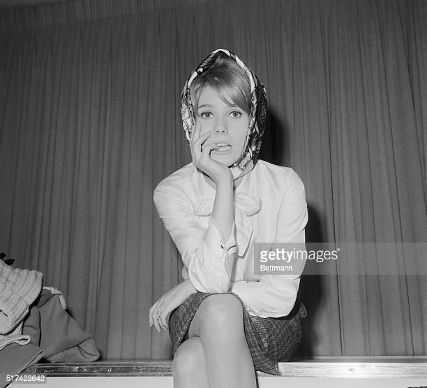 French Dish Queens New York New York Sitting pretty at Idlewild is actress Catherine Deneuve who flew in from Paris with the man she'll wed He is...