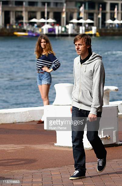 French DJ and Producer Martin Solveig is seen as he films a new music video at Circular Quay on April 29 2011 in Sydney Australia