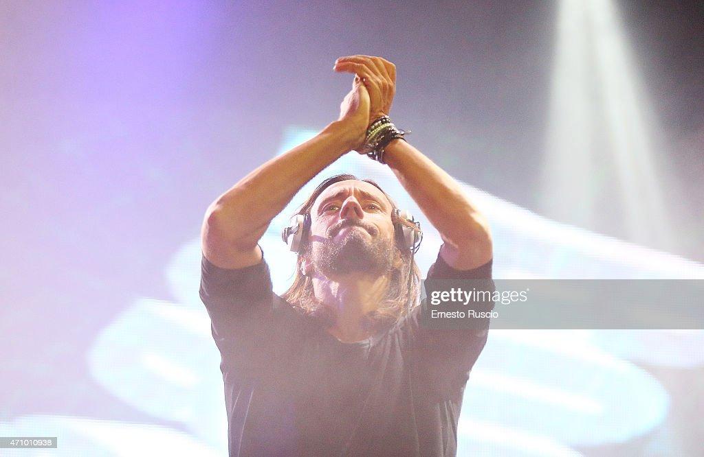Bob Sinclar Performs In Rome