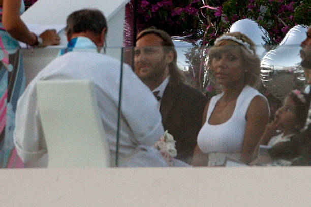 French Dj David Guetta And Cathy Celebrate Their 20th Year Of Marriage Renewing Wedding
