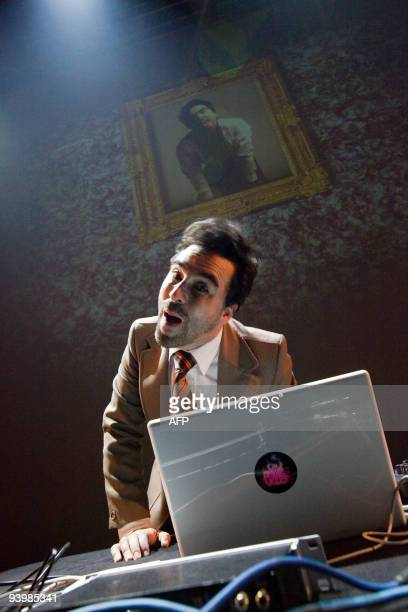French DJ Mr Eleganz performs on December 4 2009 during the third day of Transmusicales 31st edition in Rennes western France AFP PHOTO CYRIL FOLLIOT