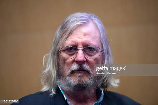 French doctor and virologist professor Didier Raoult answers deputies questions at Assemblee Nationale on June 24 2020 in Paris France Professor...