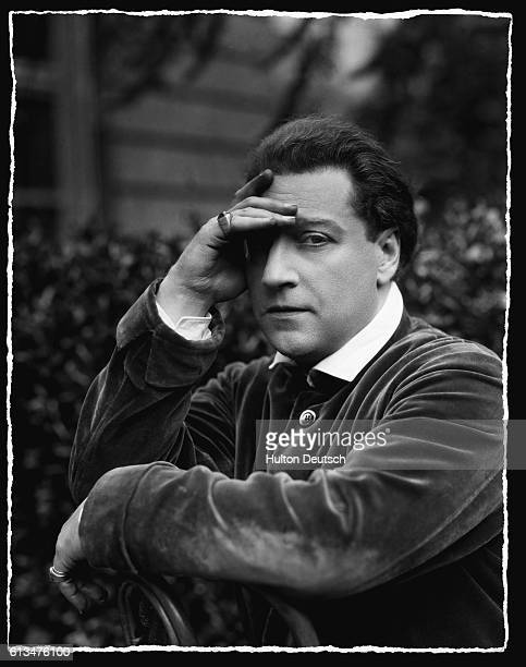 French Dramatist and Actor Sacha Guitry 1929