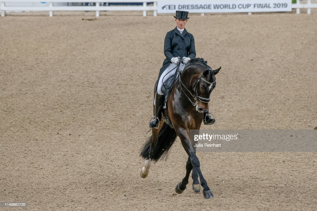 French dressage rider Morgan Barbancon on Sir Donnerhall II