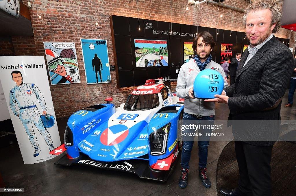 AUTO-BEL-MOTOR-RACING-ENDURANCE-COMICS : News Photo